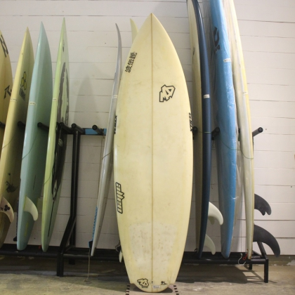 MAD Used surf board 6'1