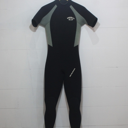 ZERO ONE 3mm Back Zip Short Sleeve Wetsuit ML