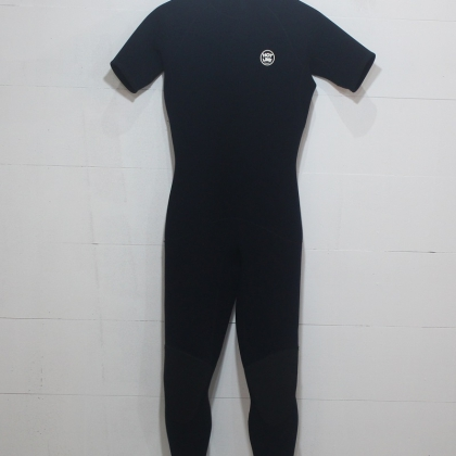 HOTLINE 3mm Back Zip Short Sleeve Wetsuit M
